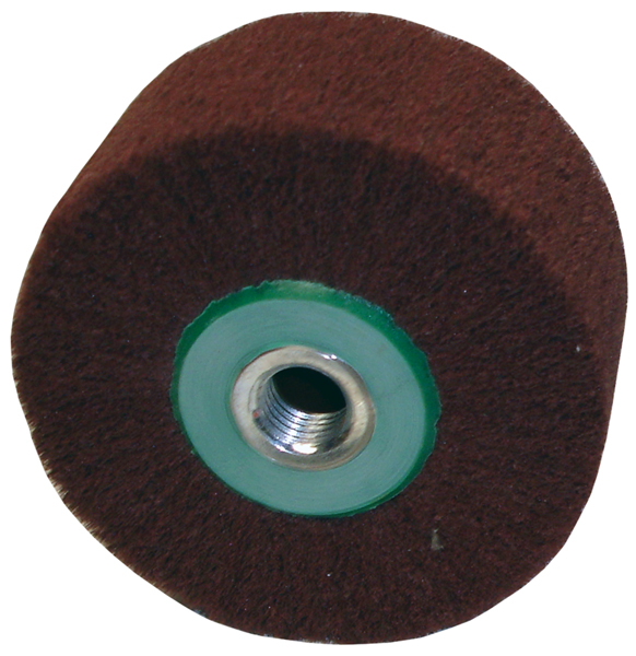Awesome 4 X 2 M16 Reverse Threaded Scotch Brite Wheel For Use On A Naumkeg Ncnpc Chair Design For Home Ncnpcorg