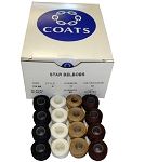 Claes 20 Nylon Prewound Bobbins - Available in Black, Chestnut, White or Deer