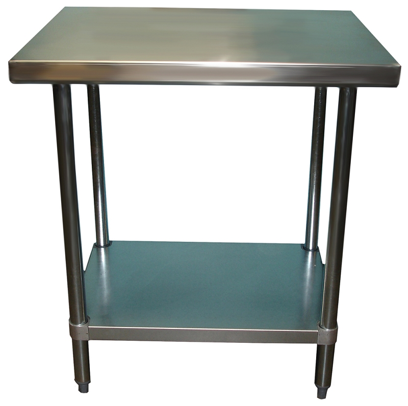 Stainless steel work bench 24 x 30 30 bench
