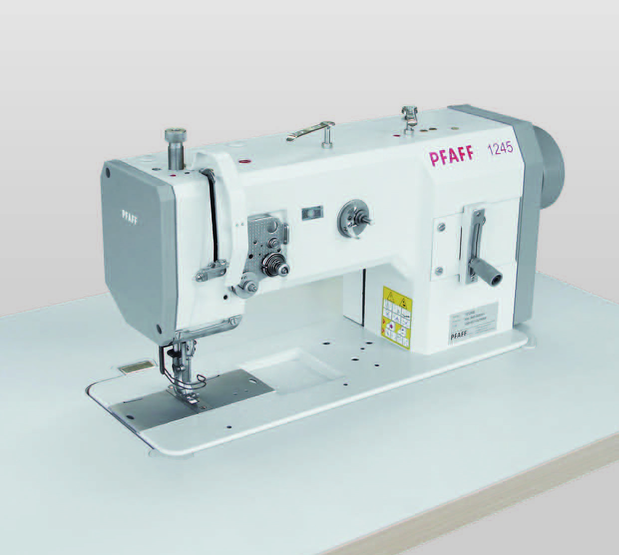 Pfaff 1245 Compound feed heavy duty lock stitch sewing machine