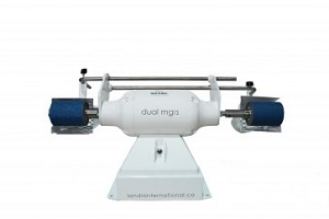 Dual Mini Grind Pro offers 2 sanding stations for larger volume of work.