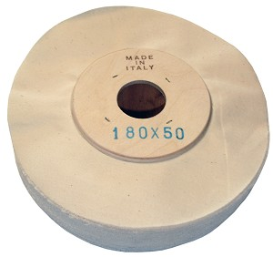 Cloth Wheel 180 x 50 mm with 33 mm bore