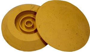 Rubber Naumkeag Pad Yellow